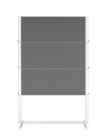 Legamaster PROFESSIONAL foldable workshop board grey - 001