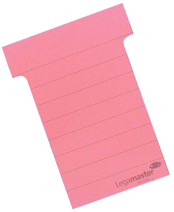 Legamaster planning module T-card 70mm pink 100pcs - 001