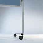 Legamaster PREMIUM mobiel inklapbaar workshopbord blauw-grijs  - 004