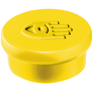 Legamaster magnet 10mm yellow 10pcs  - 001
