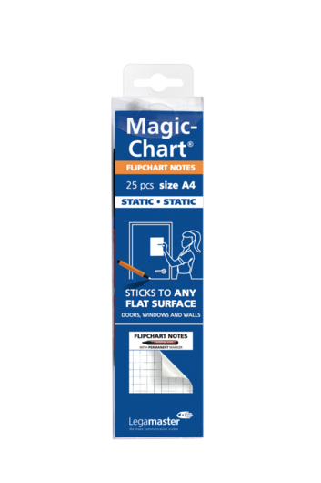 Legamaster Magic-Chart notes flipchart foil - 001