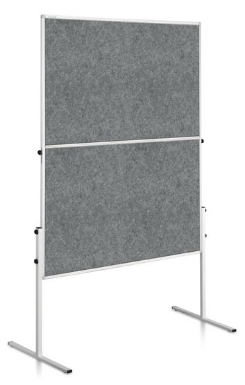 Legamaster ECONOMY tablero workshop plegable gris - 001