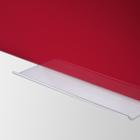 Legamaster tablero de vidrio 40x60cm rojo  - 003