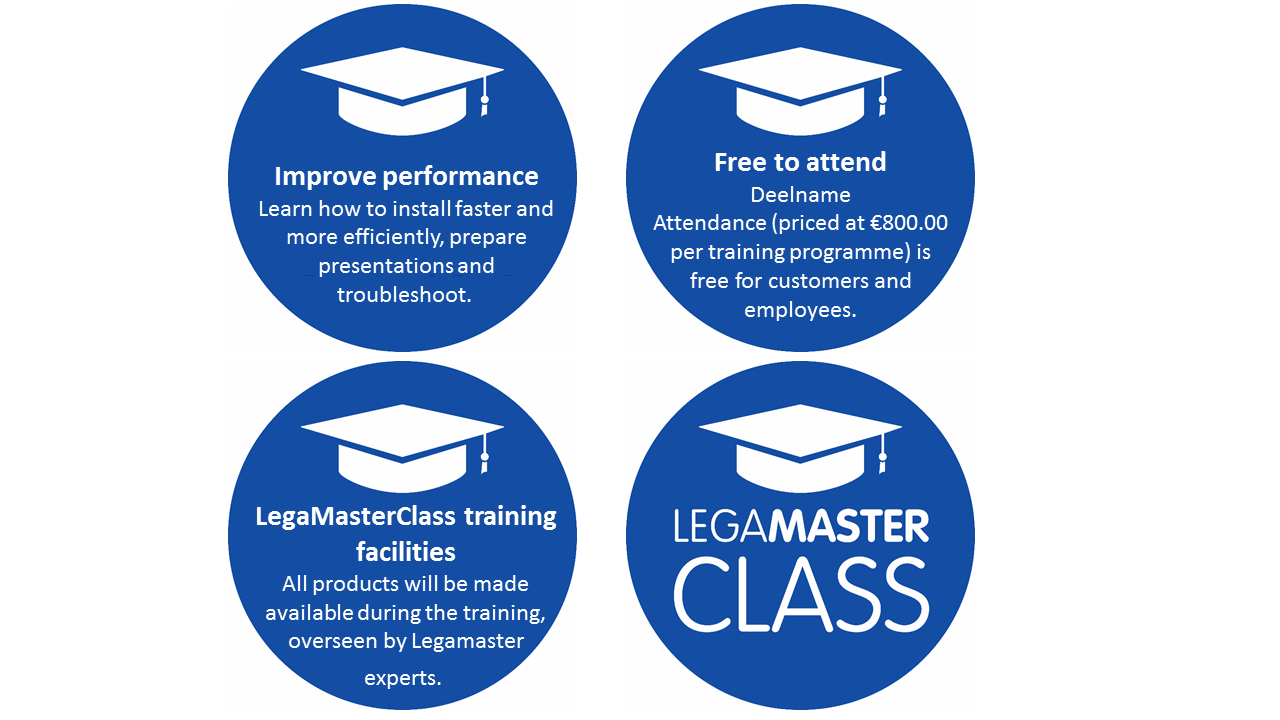 LegaMasterClass the benefits