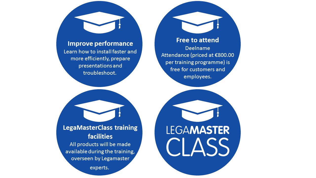 LegaMasterClass the benefits
