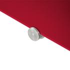 Legamaster tablero de vidrio 90x120cm rojo  - 005