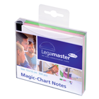 Legamaster Magic-Chart notes 10x10cm assorted 300pcs  - 001