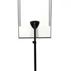Legamaster UNIVERSAL TRIANGLE mobile flipchart round base  - 005