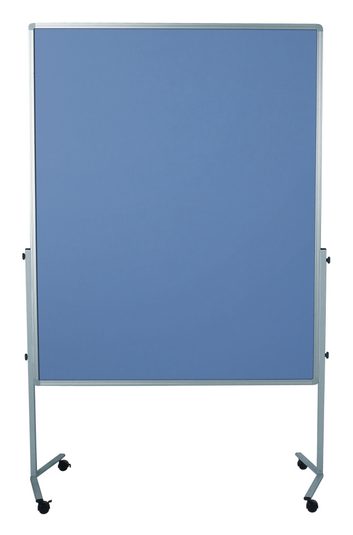 Legamaster PREMIUM mobile Moderationswand blau-grau - 001
