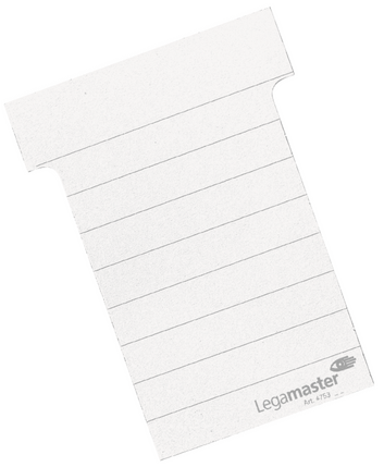 Legamaster planning module T-card 101mm white 100pcs - 001