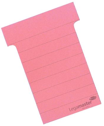 Legamaster planning module T-card 101mm pink 100pcs - 001