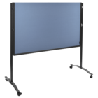 Legamaster PREMIUM PLUS workshop board foldable 150x120cm blue-grey  - 005