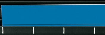 Legamaster channel planboard planning strip blue 100pcs - 001