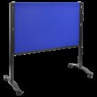 Legamaster PREMIUM PLUS workshop board foldable 150x120cm navy-blue  - 005