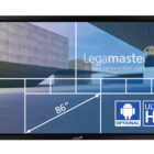 Legamaster e-Screen ETX touch monitor ETX-8610UHD zwart  - 001