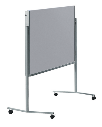 Legamaster PREMIUM mobile foldable workshop board grey - 001