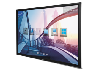 Legamaster e-Screen STX touch monitor STX-8650UHD black - 003