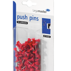 Legamaster push-pin red 50pcs  - 001