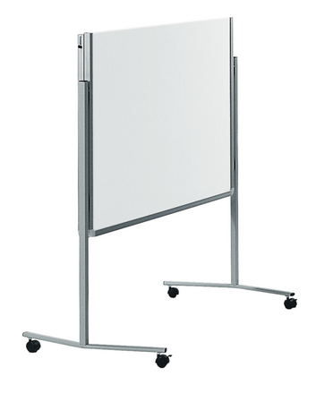 Legamaster PREMIUM mobile foldable workshop board white - 001
