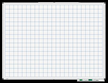 Legamaster PREMIUM bedrukt whiteboard liniatuur 90x120cm - 001