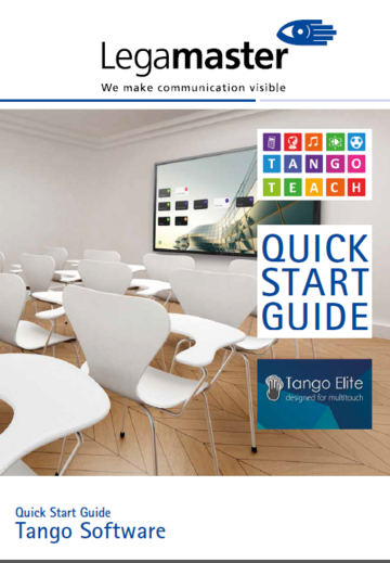 Quick Start Guide Tango Software