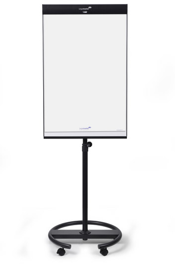 Legamaster UNIVERSAL TRIANGLE mobile flipchart round base - 001