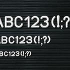 Legamaster set de caracteres suplementarios 30mm 192pcs  - 001