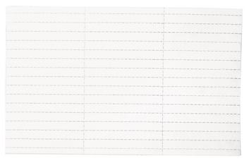 Legamaster label holder insert 30x90mm white 24pcs - 001