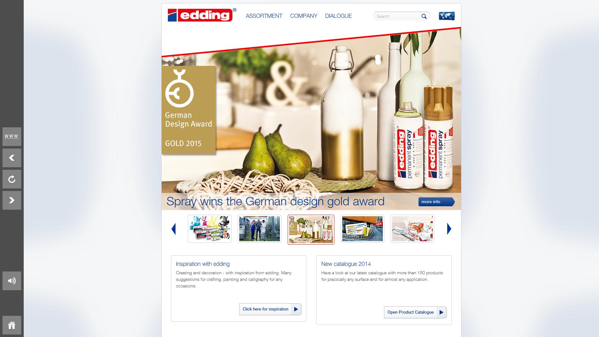 edding browser flipbox