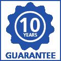 10 jaar garantie op uitwisbaarheid