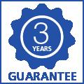 3 jaar garantie op uitwisbaarheid
