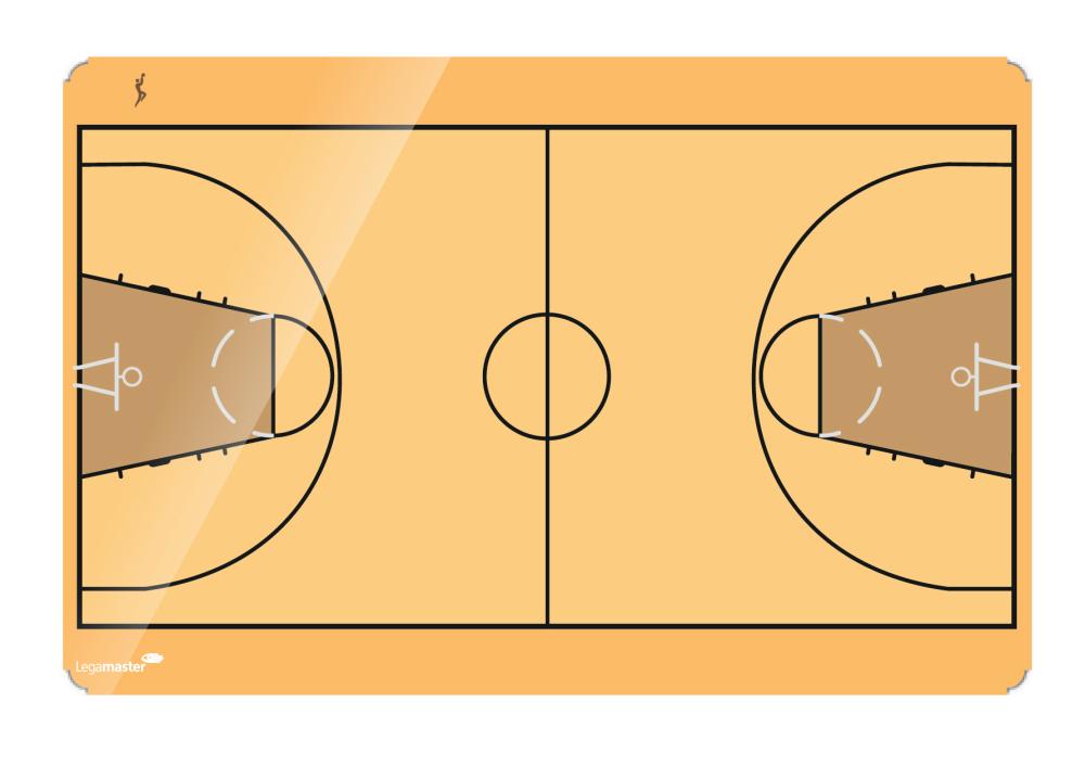 ACCENT basketbal board 90x120 cm