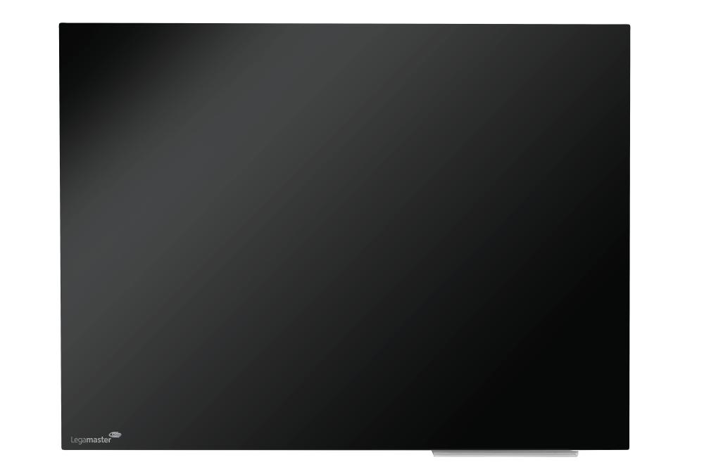 Glasbord zwart 60x80 cm