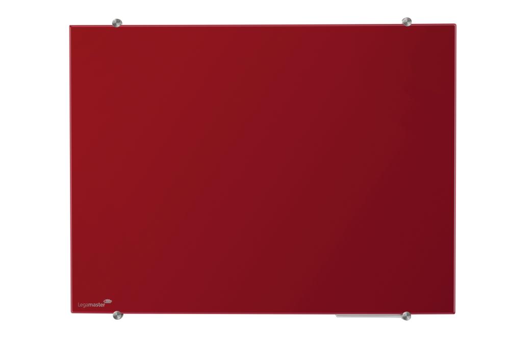 Glasbord rood 100x150 cm