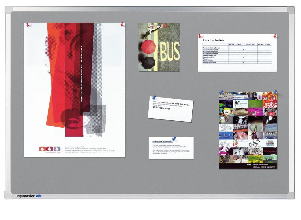 PROFESSIONAL bulletinboard 120x180 cm