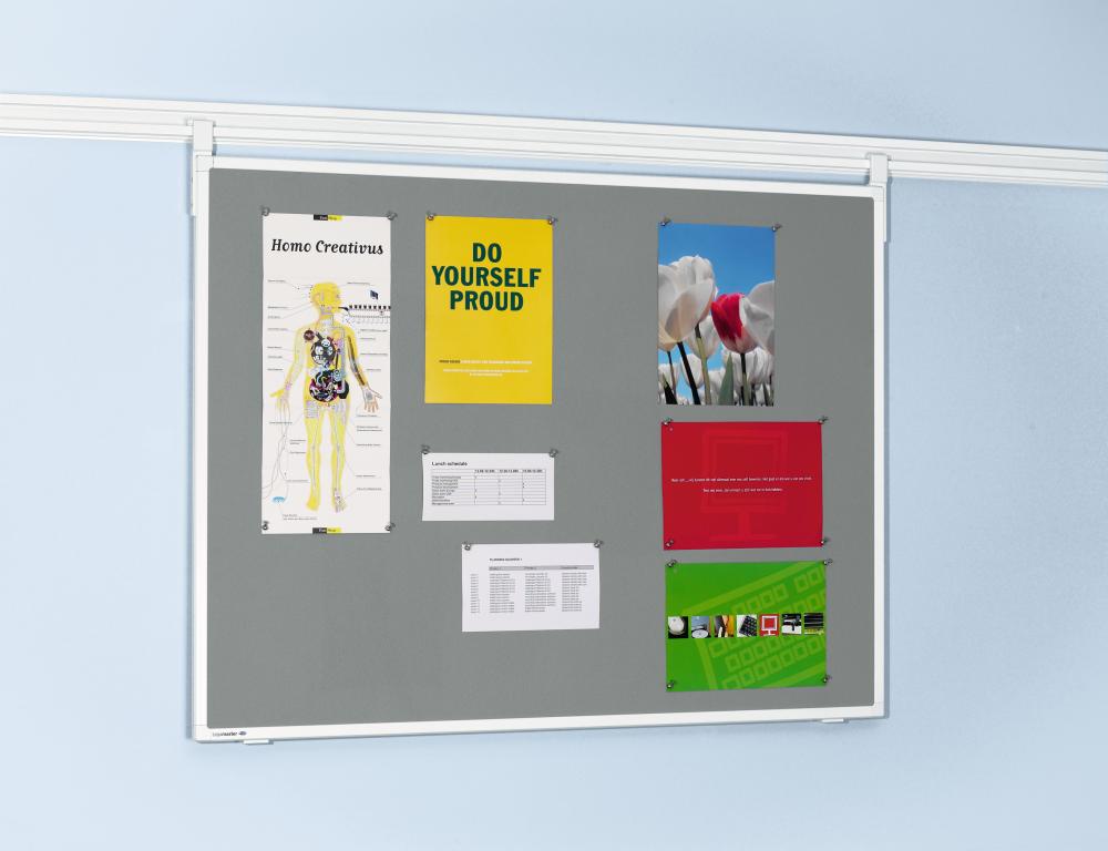 Bulletinboard voor Legaline PROFESSIONAL 90x120 cm