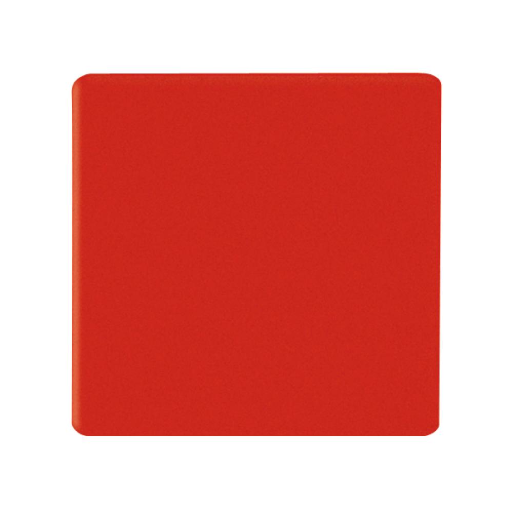 Magnetische vierkantjes 20x20 mm rood