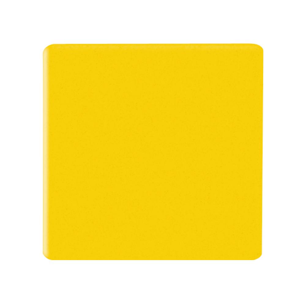 Magnetische vierkantjes 20x20 mm geel