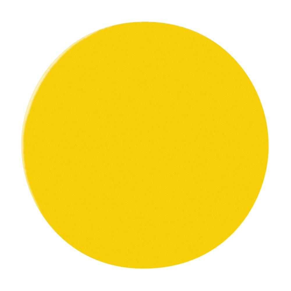 Magnetische rondjes 20 mm geel