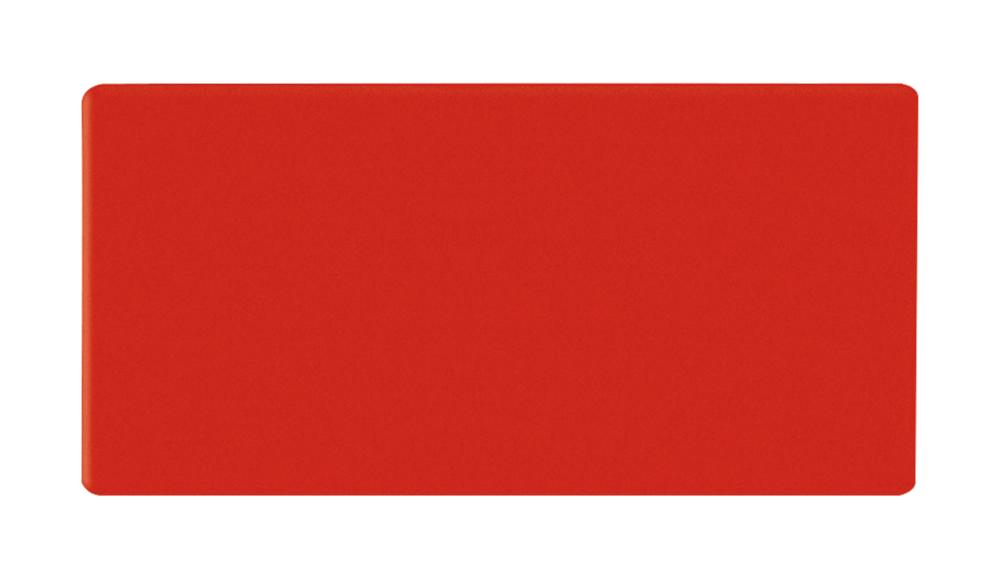 Magnetische rechthoekjes 10x30 mm rood
