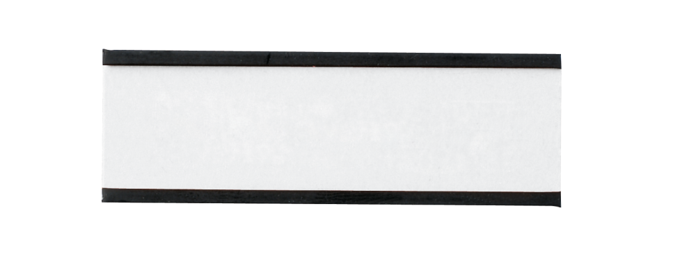Magnetische etikethouders 20x60 mm