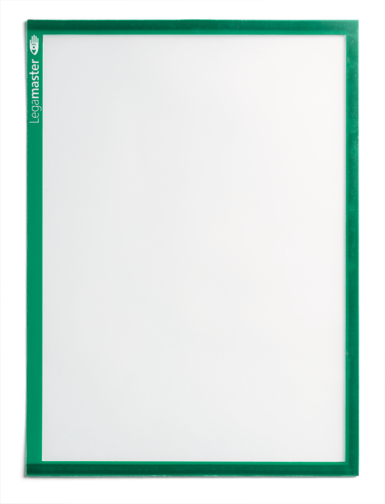 Magnetische documentenhouders groen